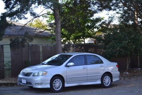 2006 Toyota Corolla for sale at Skyline Motors Auto Sales in Tacoma WA