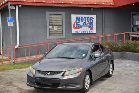 2012 Honda Civic for sale at Motor Car Concepts II - Kirkman Location in Orlando FL