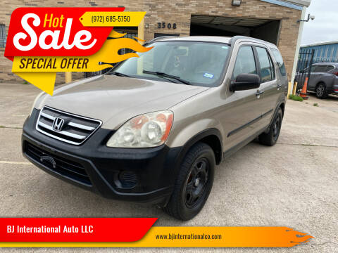 2006 Honda CR-V for sale at BJ International Auto LLC in Dallas TX