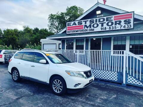 2014 Nissan Pathfinder for sale at EASTSIDE MOTORS in Tulsa OK