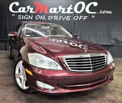 2008 Mercedes-Benz S-Class for sale at CarMart OC in Costa Mesa, Orange County CA