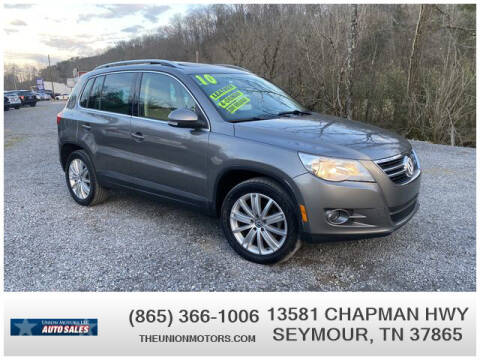 2010 Volkswagen Tiguan for sale at Union Motors in Seymour TN