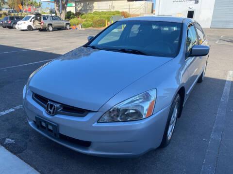 2004 Honda Accord for sale at Cars4U in Escondido CA