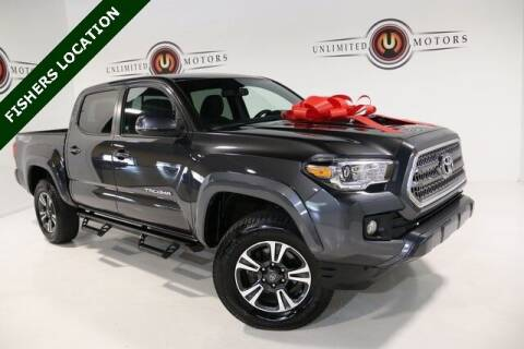 2017 Toyota Tacoma for sale at Unlimited Motors in Fishers IN