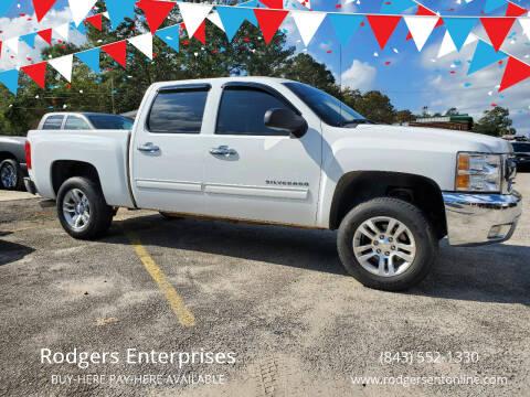 2012 Chevrolet Silverado 1500 for sale at Rodgers Enterprises in North Charleston SC