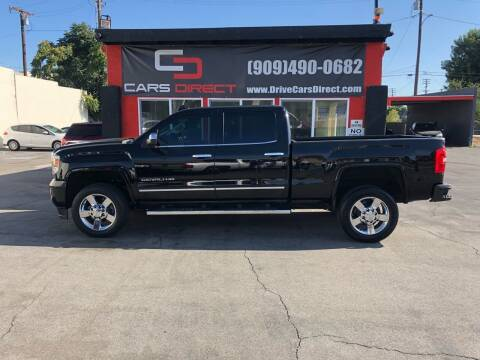 2015 GMC Sierra 2500HD for sale at Cars Direct in Ontario CA