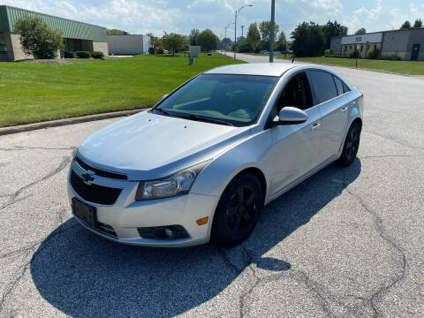 2012 Chevrolet Cruze for sale at JE Autoworks LLC in Willoughby OH