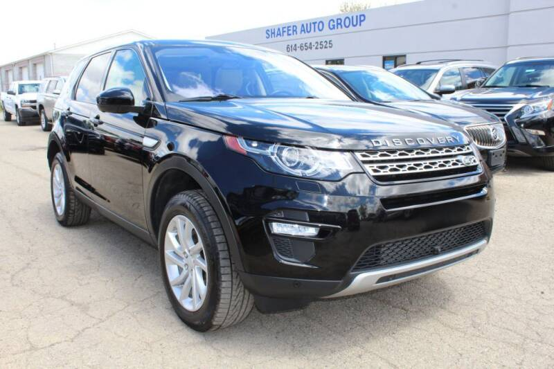 2017 Land Rover Discovery Sport for sale at SHAFER AUTO GROUP in Columbus OH