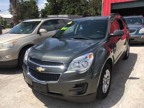 2013 Chevrolet Equinox for sale at PICAZO AUTO SALES in South Houston TX
