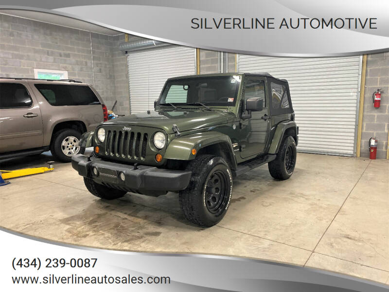 2007 Jeep Wrangler for sale at Silverline Automotive in Lynchburg VA