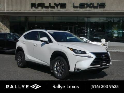 2016 Lexus NX 200t for sale at RALLYE LEXUS in Glen Cove NY