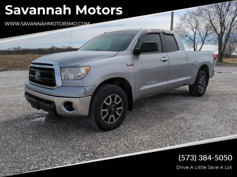 2010 Toyota Tundra for sale at Savannah Motors in Elsberry MO