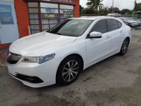 2016 Acura TLX for sale at Z MOTORS INC in Hollywood FL