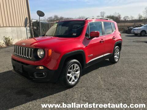 2017 Jeep Renegade for sale at Ballard Street Auto in Saugus MA