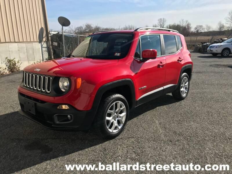 2017 Jeep Renegade for sale at Ballard Street Auto in Saugus MA