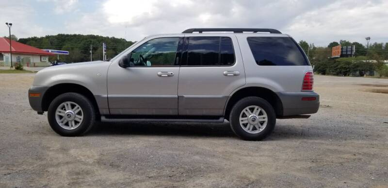 2005 Mercury Mountaineer for sale at Tennessee Valley Wholesale Autos LLC in Huntsville AL