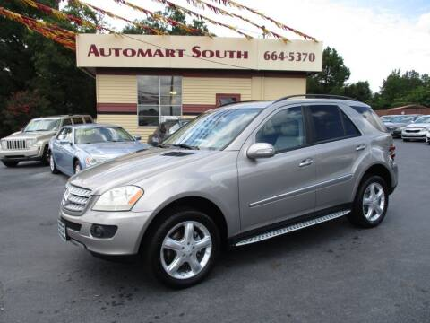 2008 Mercedes-Benz M-Class for sale at Automart South in Alabaster AL