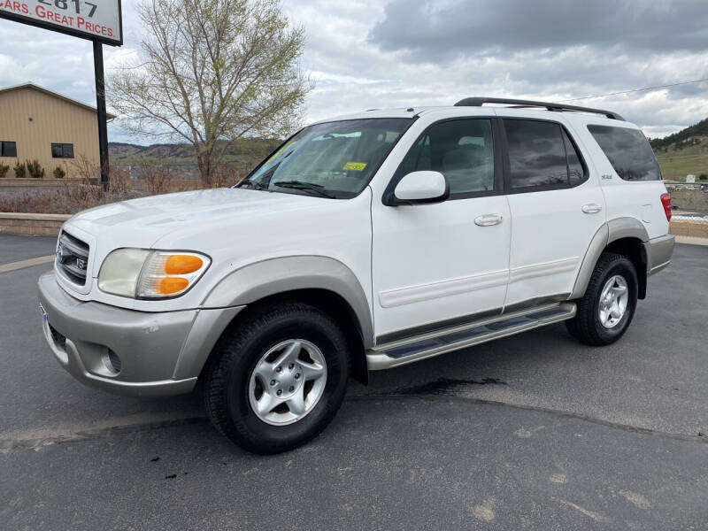 2002 Toyota Sequoia for sale at Big Deal Auto Sales in Rapid City SD