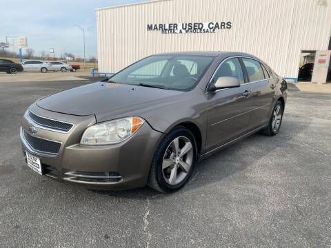2011 Chevrolet Malibu for sale at MARLER USED CARS in Gainesville TX