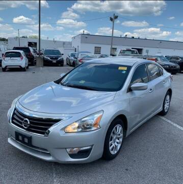 2013 Nissan Altima for sale at Total Package Auto in Alexandria VA