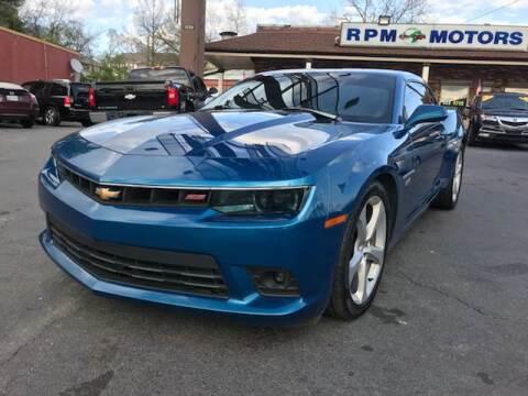 2014 Chevrolet Camaro for sale at RPM Motors in Nashville TN