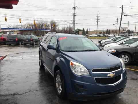 2012 Chevrolet Equinox for sale at Drive Max Auto Sales in Warren MI