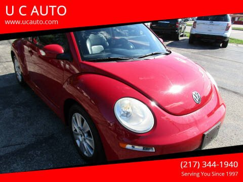 2010 Volkswagen New Beetle for sale at U C AUTO in Urbana IL