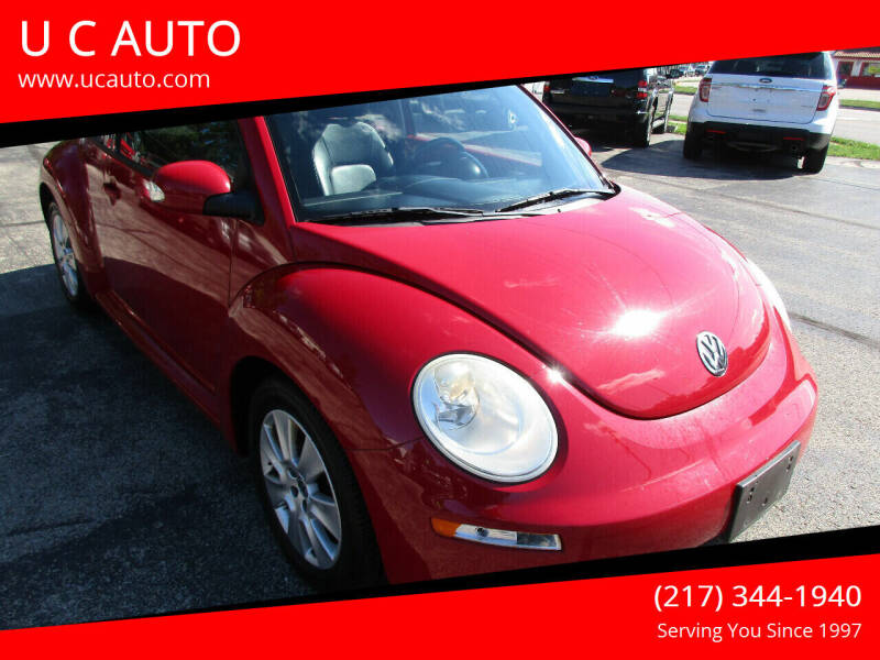 2010 Volkswagen New Beetle for sale at U C AUTO in Urbana IL