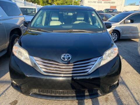 2016 Toyota Sienna for sale at America Auto Wholesale Inc in Miami FL