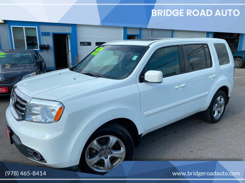 2013 Honda Pilot for sale at Bridge Road Auto in Salisbury MA