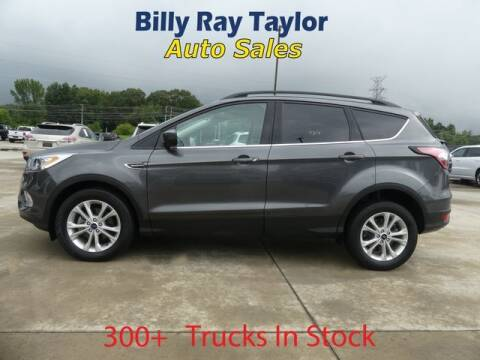 2018 Ford Escape for sale at Billy Ray Taylor Auto Sales in Cullman AL