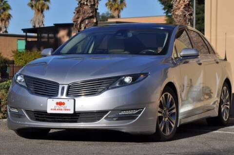 2013 Lincoln MKZ for sale at AMC Auto Sales Inc in San Jose CA