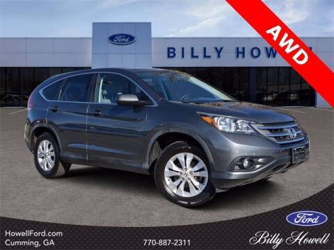 2014 Honda CR-V for sale at BILLY HOWELL FORD LINCOLN in Cumming GA