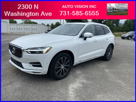2018 Volvo XC60 for sale at Auto Vision Inc. in Brownsville TN