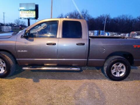 2008 Dodge Ram Pickup 1500 for sale at Page Used Cars in Muskogee OK