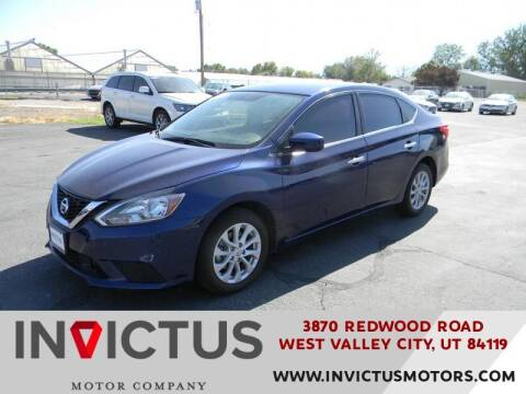 2018 Nissan Sentra for sale at INVICTUS MOTOR COMPANY in West Valley City UT