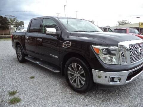 2017 Nissan Titan for sale at PICAYUNE AUTO SALES in Picayune MS