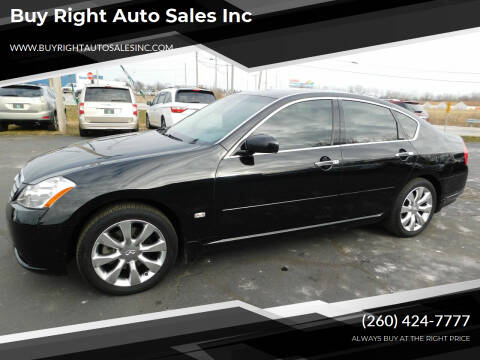 2006 Infiniti M35 for sale at Buy Right Auto Sales Inc in Fort Wayne IN