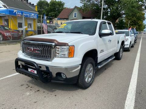 2011 GMC Sierra 1500 for sale at C & M Auto Sales in Detroit MI