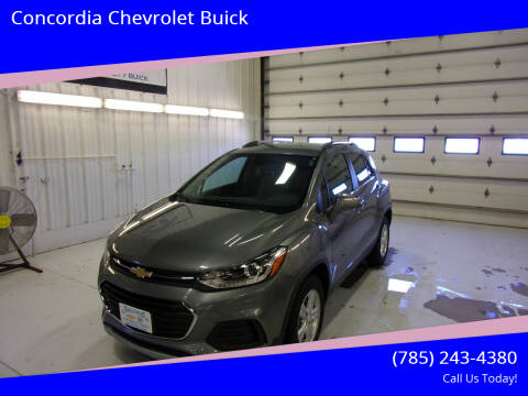 2020 Chevrolet Trax for sale at Concordia Chevrolet Buick in Concordia KS