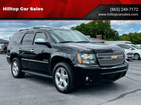 2014 Chevrolet Tahoe for sale at Hilltop Car Sales in Knoxville TN