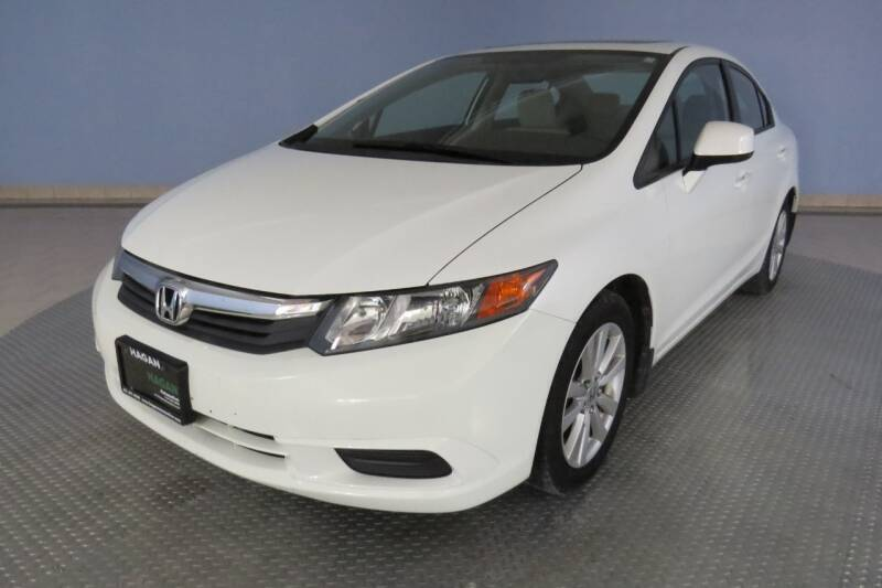 2012 Honda Civic for sale at Hagan Automotive in Chatham IL