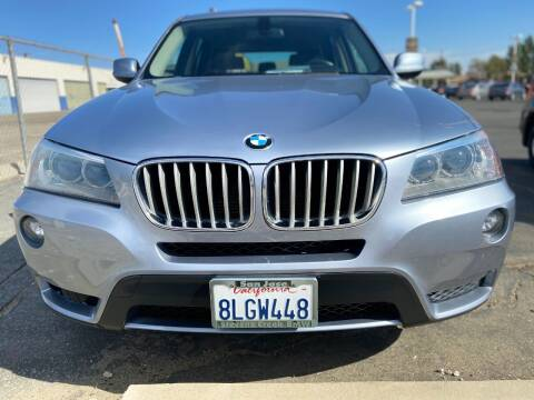 2012 BMW X3 for sale at Global Auto Group in Fontana CA