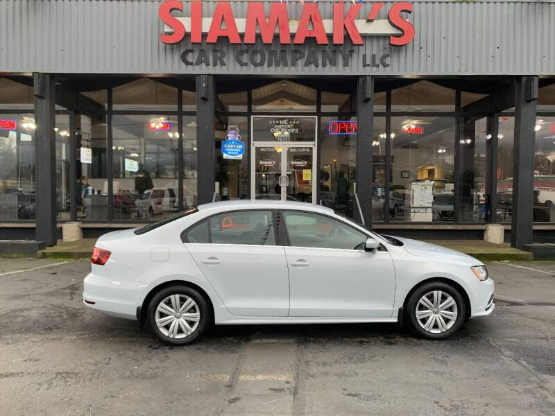 2017 Volkswagen Jetta for sale at Siamak's Car Company llc in Salem OR