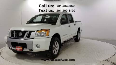 2014 Nissan Titan for sale at NJ State Auto Used Cars in Jersey City NJ