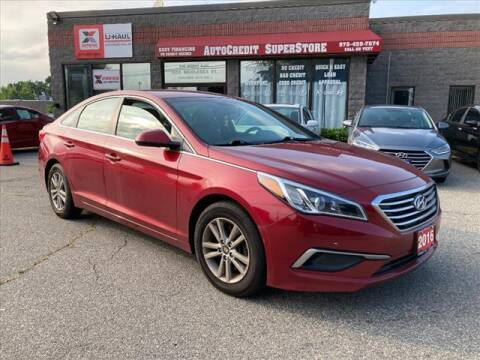 2016 Hyundai Sonata for sale at AutoCredit SuperStore in Lowell MA