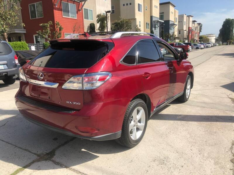 2011 Lexus RX 350 for sale at Bell Auto Inc in Long Beach CA