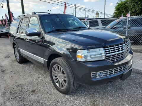 2010 Lincoln Navigator for sale at America Auto Wholesale Inc in Miami FL