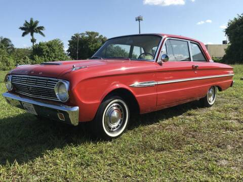 1963 Ford Falcon for sale at Hardy Automotive in Hollywood FL