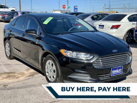2014 Ford Fusion for sale at Stanley Automotive Finance Enterprise - STANLEY DIRECT AUTO in Mesquite TX